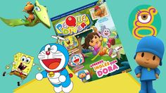 Sobre sorpresa revista de Dora la Exploradora con un cuento de Ben y Holly, Pocoyo, cromos de Peppa Pig, Doraemon, Bob Esponja y Dinotren.  Blind bag, Dora the Explorer magazine that incluyes a story about Ben and Holly, Pocoyo, Peppa pig stickers, Doraemon, Spongebob and Dino Train.  Google + - http://google.com/+tremendinggirlstoys Facebook - https://www.facebook.com/tremendinggirls Twitter - https://twitter.com/tremendinggirls