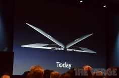 The new Macbook Air with Ivy Bridge. SO much apple goodness today!