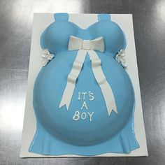 Its A Boy Mummy Tummy Baby Shower Cake Mummy Tummy, Cake Gallery, Baby Shower Cakes, Bakery, Desserts, Food, Meal, Bakery Shops, Deserts