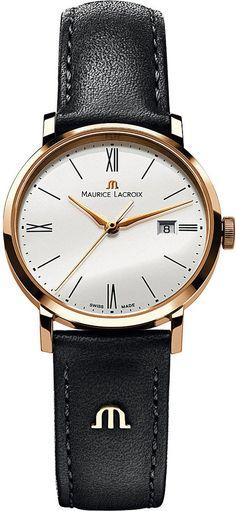 Maurice Lacroix EL1084-PVP01-110 Eliros Leather Strap Watch - for Women