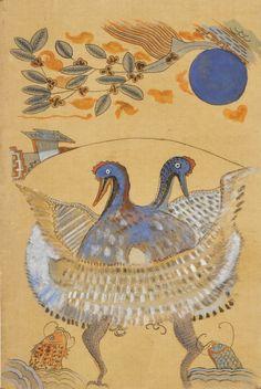 사단법인 한국 전통 민화 연구소 Korean Painting, Common People, Korean Art, Old Paintings, Pablo Picasso, Bird Art, Art World, Folk Art, Egypt