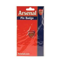 Arsenal FC - Official Crest Pin Badge by Arsenal. $7.45