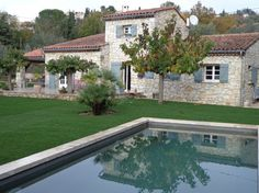 typical provencal villa in Var country