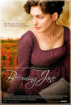 """her words make her a legend"" Jane Austen. Anne Hathaway (Becoming Jane) Becoming Jane, World Movies, Hd Movies, Anne Hathaway, Love Movie, Movie Tv, Jane Austen Movies, Great Novels, Maggie Smith"