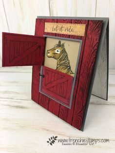 Half Barn Door for Horse - Frenchie Stamps
