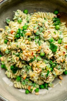 Culy Homemade: quick summer pasta with peas and lemon Culy. Tasty Vegetarian Recipes, Veggie Recipes, Pasta Recipes, Cooking Recipes, Healthy Recipes, Quick Healthy Meals, Easy Meals, Beef Stew Crockpot Easy, Low Carb Brasil