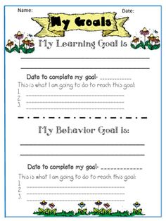 This product is designed to help students make academic and behavioral goals. It…