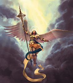 High Fantasy, Medieval Fantasy, Angel Hierarchy, Angel Warrior, Prayer Warrior, Fantasy Art Angels, Archangel Uriel, Hulk Art, Angel Artwork