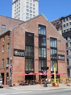 Granary Tavern, Milk Street, Boston, MA