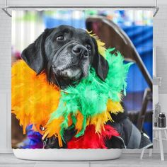 What to Look For in Shower Curtains. Cool Shower Curtains, Easy Install, Dog Supplies, Labrador Retriever, Puppies, Personality, Printers, Pets, Gallery