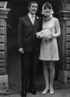 Audrey Hepburn on her wedding day to Italian psychiatrist Andrea Dotti in January 1969.  image - Fashion Galleries - Telegraph