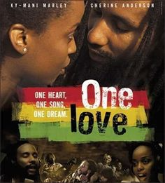 One Love Starring Ky-Mani Marley, Cherine Anderson and Idris Elba. Kassa (Ky-Mani) a Rastafarian falls for Serena (Cherine Anderson) who is a Christian One Love Movie, See Movie, Movie Tv, Sunday Movies, Good Movies, Watch Movies, Afro, Bob Marley Pictures, Rasta Man