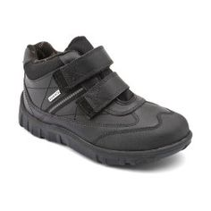 Boys School Shoes: Black Leather Boys Rip-tape Boots http://www.startriteshoes.com/boys-shoes/school-shoes
