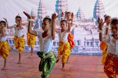 Girls performing in Somaly Mam's Kampong Cham Shelter in Kampong Cham, Cambodia (Courtesy Jeff Dupre)