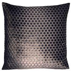 Kevin O'Brien Studio - Dots Velvet Pillow in Smoke