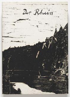 "Der Rhein  Anselm Kiefer (German, born 1945)    1983. Illustrated book with twenty-one woodcuts, page: 23 1/4 x 16 1/2"" (59 x 42 cm) Prints: various dimensions. Publisher: Anselm Kiefer, Hornbach. Printer: Anselm Kiefer. Edition: 10. Purchase. © 2012 Anselm Kiefer"