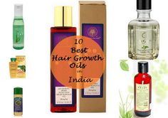 10 Best Oils for Hair Growth in India. These essential and ayurvedic hair oils will make hair grow faster, longer and thicker and cure baldness. Prices in India