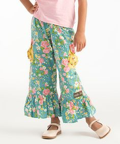 Another great find on #zulily! Stone Cliff Ruffle Pants - Infant, Toddler & Girls by Matilda Jane Clothing #zulilyfinds
