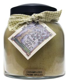 Loving this Caramelized Creme Brulee Papa Jar Candle on #zulily! #zulilyfinds
