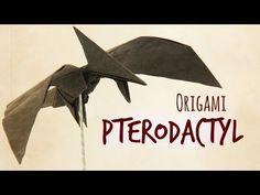 How to make an origami Pterodactyl (Tadashi Mori) - YouTube