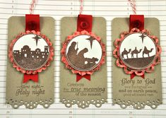 Nativity tags by by Dawn McVey for Papertrey Ink (October 2011).