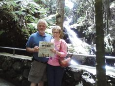Hawaii Honeymoon  Photo posted by:Jay Eicholtz  Joan and Jay Eicholtz of Hallam Borough visiting The Botanical Garden in Hilo, Hawaii while on their honeymoon, May 2010 #Honeymoon #vacation #Hawaii