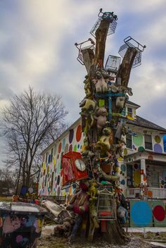 A Neighborhood That Is The Art –The Heidelberg Project Detroit MI