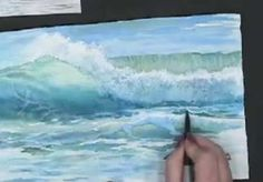 Making Waves - Techniques for Painting Ocean Waves in Watercolor with Susie Short by tina66