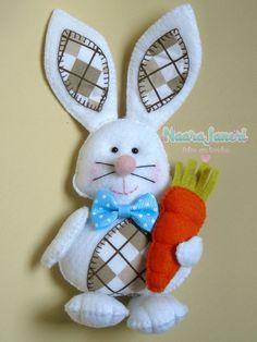 Baby Room Decor, Fabric Dolls, Felt Crafts, Baby Quilts, Easter Bunny, Origami, Christmas Ornaments, Holiday Decor, Projects