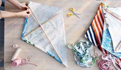 Faire un cerf volant DIY