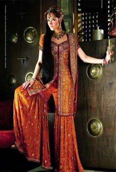 Sana Designer Wear. Not a sari, but gorgeous!