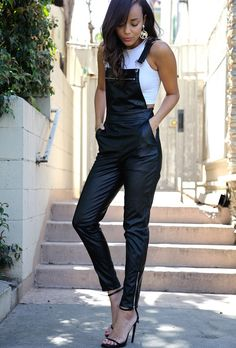 Leather Over-alls