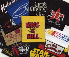 Woven Labels made by Progressive Label, Inc.