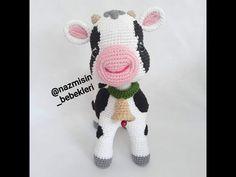 El işi ürünler ve hobi çalışmaları Amigurumi Toys, Hello Kitty, Diy And Crafts, Crochet Hats, Elsa, Make It Yourself, Youtube, Crochet Cow, Amigurumi Patterns