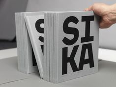 Saint-Gobain Anniversary Book – celebrating 100 years of Silicium Carbide production in Eydehavn, Norway Graphic Design Tattoos, Graphic Design Typography, Branding, Poster S, Book Layout, Book Binding, Graphic Design Inspiration, Editorial Design, Book Design