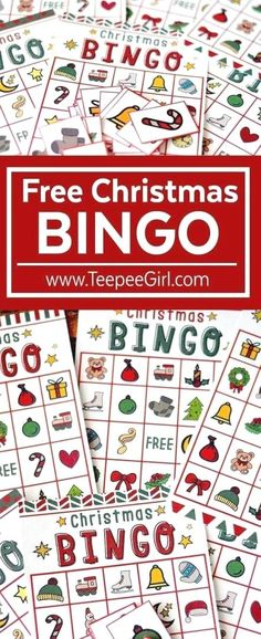 This free Christmas bingo printable game is the perfect (and easy!) way to add holiday fun to all your Christmas parties this year! Christmas Bingo Printable, Christmas Bingo Game, Preschool Christmas, Christmas Activities, Christmas Parties, Christmas Holidays, Printable Party, Xmas Party, School Holidays