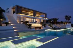 """Roca Llisa is a residential project designed by Saota & ARRCC in 2014. It is located in Ibiza, Spain.                      Roca Llisa by SAOTA & ARRCC: """"At ARRCC we create considered and engaging interiors at the leading edge of design. Working closely with our clients, we distil and transform their briefs to exceed original expectations. We believe in life-enhancing spaces that reflect both client and location, and through our refined approach to design, have developed a style focused on…"""