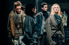 Tommy Ton. Haider Ackermann. So many great fabrics and textures in this.