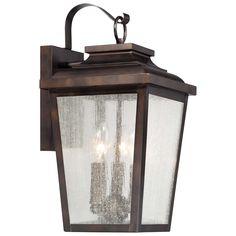 Minka Lavery Irvington Manor 3 Light Outdoor Wall Lantern