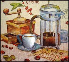 Coffee and Tea - Carla Simons - Picasa Web Albums Coffee Cup Art, Coffee Latte, I Love Coffee, Best Coffee, Coffee Time, Coffee Break, French Vanilla Cappuccino, Cafe Creme, Café Chocolate
