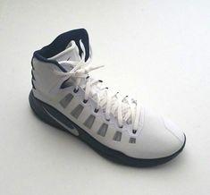 d683e4736f5d Nike Men s 856483-141 Hyperdunk 2016 TB Basketball Shoes White Blue Size  17.5 826218257797