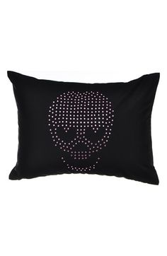 Betsey Johnson Bedding 'Punk Princess' Skull Pillow available at #Nordstrom