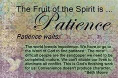 The Fruit of the Spirit.Self Control and a Beth Moore quote Beth Moore Quotes, Spirit Quotes, Impatience, Fruit Of The Spirit, God Is Good, Trust God, Holy Spirit, Spirit Soul, Word Of God