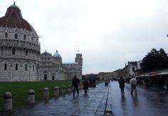Baptisterio, Catedral y Torre-Campanario de Pisa, Italia