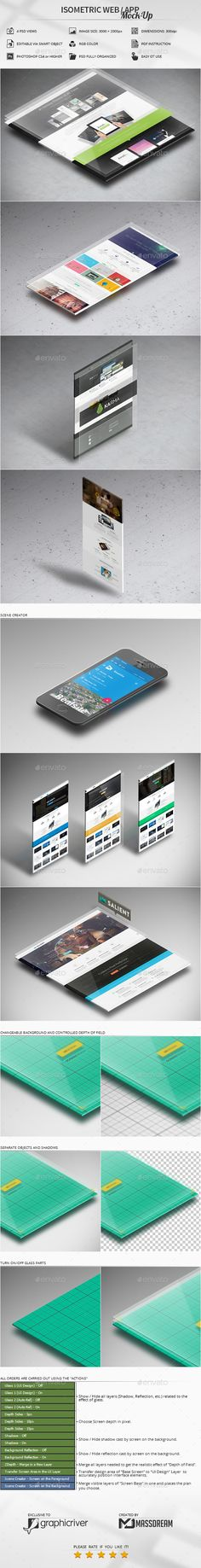 Features 4 PSD Views and 1 ATN File / Adobe CS4 or higherHigh resolution / 3000x2000px / 300dpiEditable via smart object (2556x