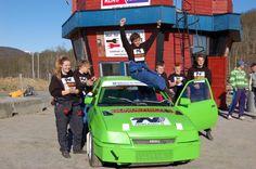 Fredrik Tålesen vant Bilcross JR Challenge 2013 Jr, Challenges
