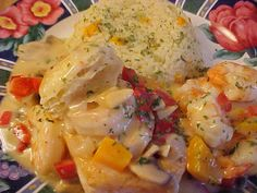 mesa de festa: Vol-au-vent de camarão