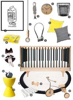 A Room of Lines | Little Gatherer Baby Boy Rooms, Baby Room, Nursery Neutral, Neutral Nurseries, Modern Crafts, Kid Spaces, Playroom, Cribs, Baby Kids