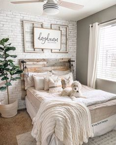 The First 5 Things You Should Buy When Decorating Your Living Room – Home Design Girl Bedroom Designs, Room Ideas Bedroom, Home Bedroom, Tan Bedroom, Bedrooms, Modern Farmhouse Bedroom, Rustic Girls Bedroom, Cute Room Decor, Aesthetic Room Decor