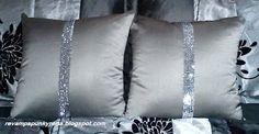 Bling Up Throw Pillows